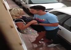 Voyeur Catches Horny Couple