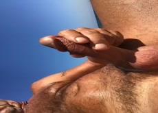 cum in beach