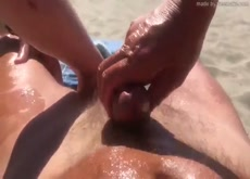 massage in the beach