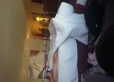 Flash hotel maid