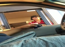 Drive Thru Car Bulge Flash