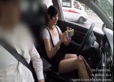 Girl Films Herself Teasing Car Salesman While on Test Drive