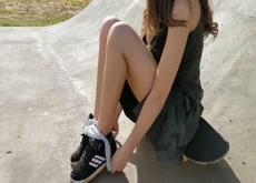 Cute Skater Girl