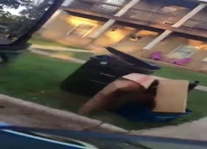 Guy Cams His Nudist Neighbor