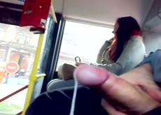Flash Verga cum bus