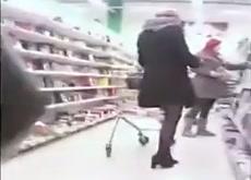 Cumshot in the Supermarket
