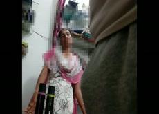 aunty watching bulge shop