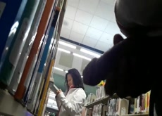 Flash Asian In Library