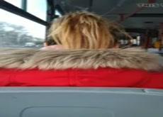 cum on her hair 2