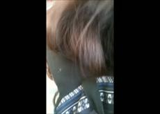 cum on her hair 3