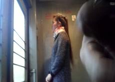 dickflash in train2