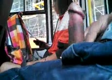 bus dickflash