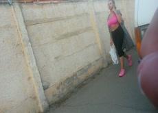 street flash with cumshot