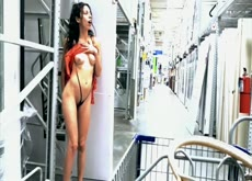 Naughty Risky public pussy play in the streets  pt.3