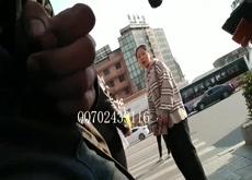 three chinese girls flashed