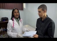 Female doctor Medical exam 5