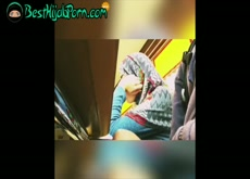 I show my Uncut Cock To Hijab Muslim Classmate