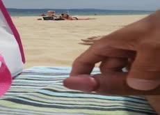 Flash 2 Teens at Beach