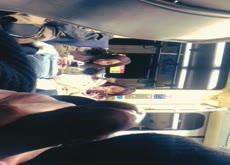 Flashing Teens on metro 2