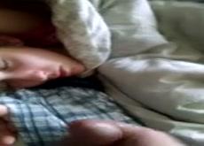 shhhh she sleeping