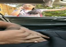 Car Flash Indian Teen