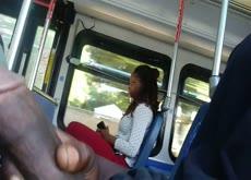 flash Black Girl On Bus BBC
