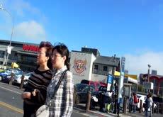 Crossing street - TOO FAST!