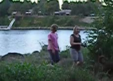 Caught Jerking by 3 Women at Lake (Blind Reaction)