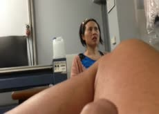 Dickflash for Asian Laundromat Lady