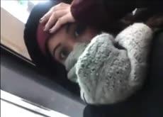 Girl Films Guy Jerking Off on Subway