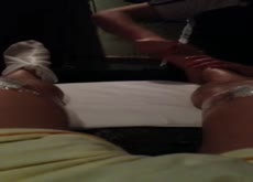 Dickflash for Asian During Massage - 2
