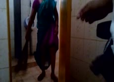 Indian maid flashing videos